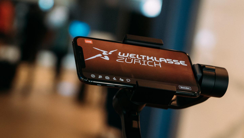 Bewegte Kamera: Mit Gimbal stabilisiertes iPhone