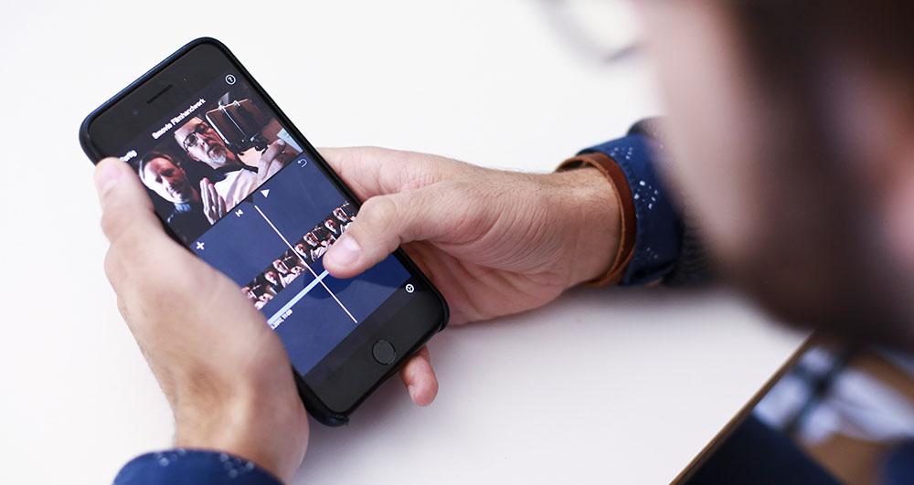 Smovie schneiden auf dem iPhone